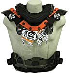 HRP Sports Flak-Jak LT IMS Chest Protector (Orange, X-Large)