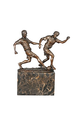 Toperkin New Arrival Home Decor Soccer Metal Statue Sculpture TPE-768 by Toperkin