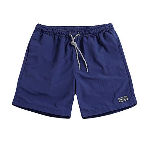 Plus Size Mens Swimming Shorts Beach Surfing Boxer Shorts Trunks Elasticated Waist Summer Casual Gym Training Short Pants 7 Colors Mumustar