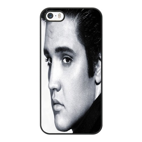Coque,Coque iphone 5 5S SE Case Coque, Elvis Presley Cover For Coque iphone 5 5S SE Cell Phone Case Cover Noir