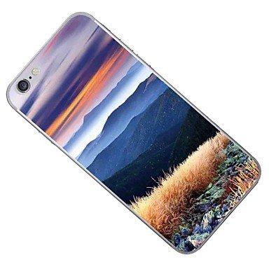 Fundas y estuches para teléfonos móviles, Caso para el iphone de la manzana 7 7 más el caso natural del patrón del paisaje de la cubierta de la caja pintó la caja más suave del ( Modelos Compatibles : IPhone 7 Plus