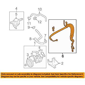 Genuine Subaru Power Steering Pressure Hose 34610FE190