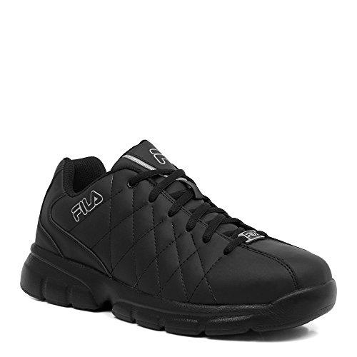 Fila Men's Fulcrum 3 Training Shoe, White/White/Metallic Sil