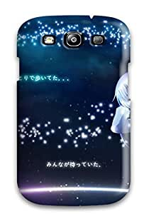 AnnaSanders Case Cover Protector Specially Made For Galaxy S3 Angel Beats Beats! Anime Other