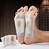 20 Pcs Anti-Swelling Ginger Foot Pads For Promote