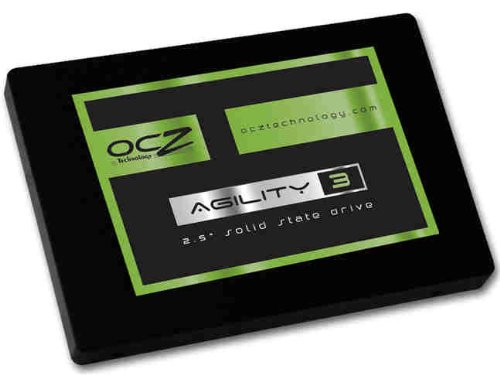 OCZTechnology90GB Agility 3 Series SATA 6Gb/s  2.5-Inch Midrange Performance Solid State Drive (SSD) with Max 525MB/s Read and Max 85K IOPS- AGT3-25SAT3-90G