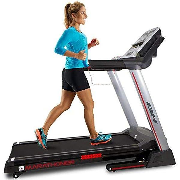 BH Fitness Marathoner Cinta de Correr, Adultos Unisex, Gris Oscuro ...