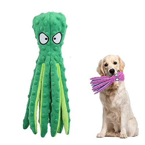 Hundespielzeug,Hundetraining Spielzeug,Intelligenz Kauspielzeug,Quietsch Spielzeug für Hunde,Tintenfisch Spielzeug…
