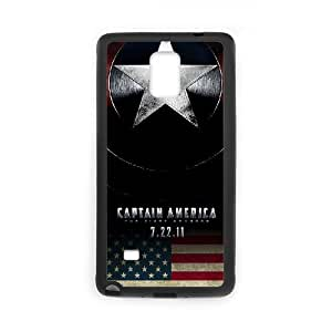 Phone Accessory for Samsung Galaxy Note 4 Phone Case Captain America C747ML