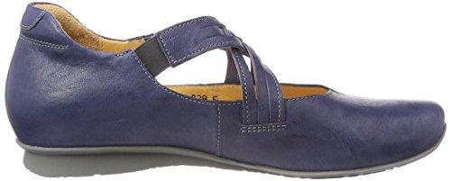 Think Chilli Jeans Flats Blue Ballet Strap 282108 Women's Ankle 84 Kombi w4xqrHw