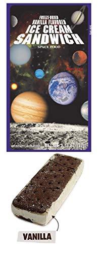 Astronaut Ice Cream Freeze Dried Vanilla Sandwich - 1 - Ice Dried Freeze Cream
