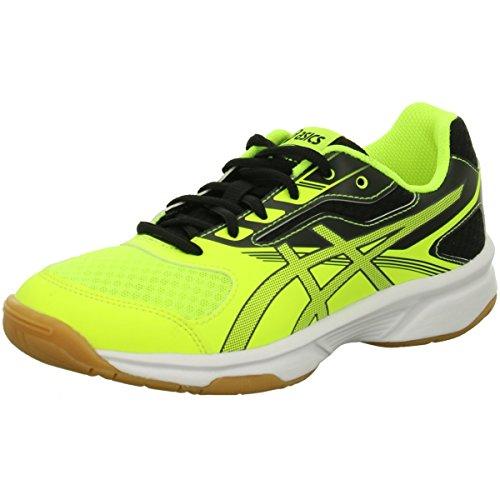 dark Asics 2 Grey Yellow Para Unisex De Niños black Upcourt Gs Voleibol Safety Zapatos rPZRrwq
