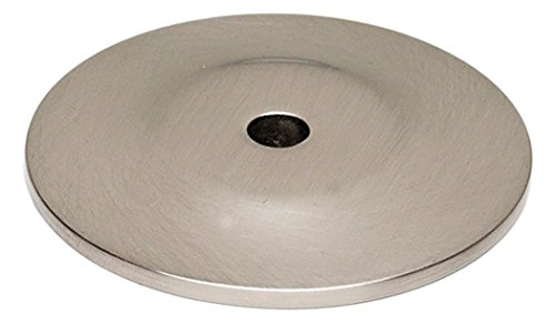 (Alno A815-14P-SN Traditional Knobs Backplates, Satin Nickel, 1-1/4