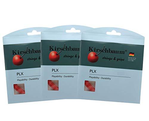 Kirschbaum Proline x Savers Pack X3 Sets Proline x 130/16G Tennis String -Red