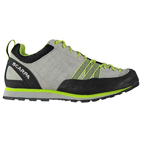 Scarpa Womens Crux Walking Shoes Lace Up Waterproof Grey y3KaWl