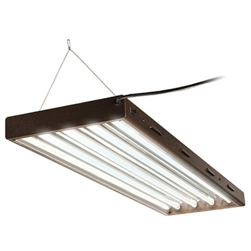 Agrobrite Designer T5, FLP44, 216W 4 Foot, 4-Tube Fixture with Lamps
