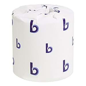 Boardwalk 6180 Two-Ply Toilet Tissue, White, 4 1/2 x 3 Sheet, 500 Sheets Per Roll (Case of 96 Rolls)