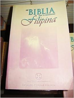 Tagalog Womens Bible Catholic Edition / Ang Biblia Para Sa ...