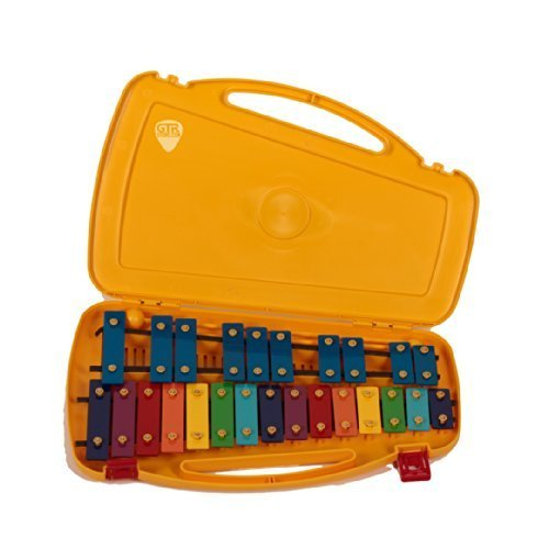 Percussion Plus YHXP25K A-A Student Xylophone with Case and Mallets by Percussion Plus
