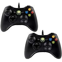 Par de Controles USB Xbox 360 Joystick Windows RetroPie