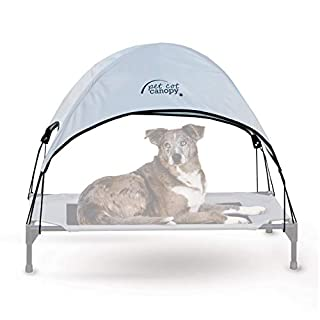 K&H Pet Products Pet Cot Canopy - Gray, Large 30 X 42 Inches