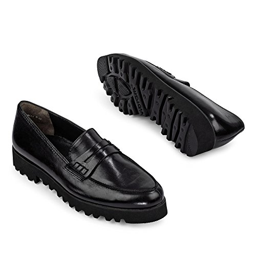 Paul Green Women's 3142 Loafer Flats Black V0AI0m