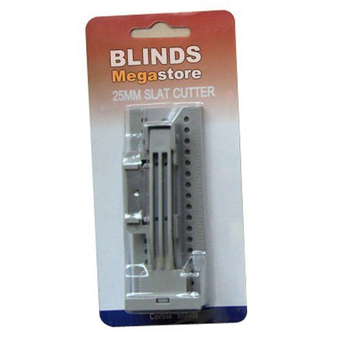 ACCESSORIES & SPARES Venetian blind 25mm slat easy cutter. Blinds accessories