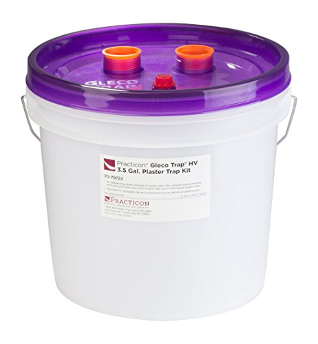 Practicon 7078724 Gleco Trap HV Refill, 3.5 gal by Practicon