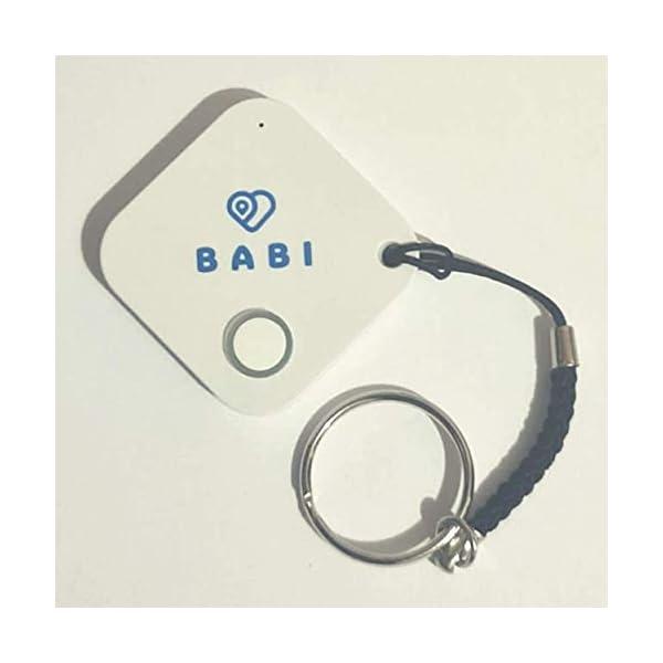 Babi Alert il portachiavi intelligente per dispositivo anti abbandono seggiolino auto Babi by CappyToppy Monitoraggio… 1