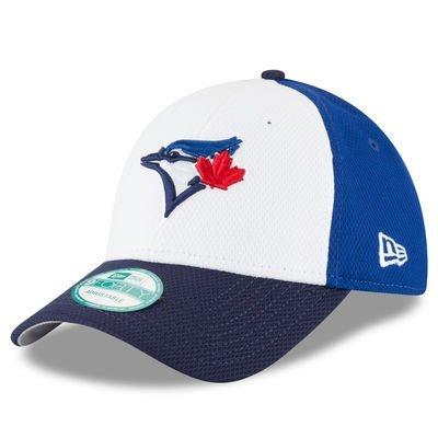 Toronto Blue Jays MLB New Era Perforated Block 9FORTY Adjustable Cap, One Size