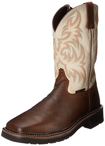 Men's Stampede Steel Toe, Copper Kettle Cowhide, 11 D US ()