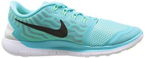 Nike Kvinna Fri 5,0 Ljus Aqua / Blk / Lt Rtr / Grn Glw Löparskor 6 Kvinnor Oss
