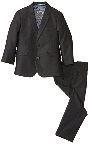 Appaman Boy's Two Piece Classic Mod Suit, Vintage Black, 5 by Appaman