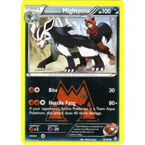 (Pokemon - Team Magma39;s Mightyena (19/34) - Double Crisis)