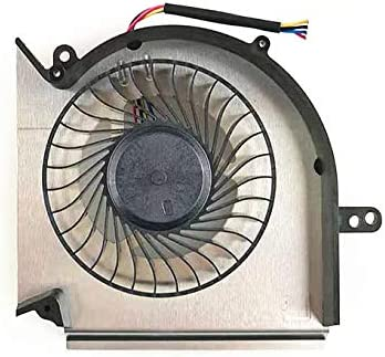QUETTERLEE Replacement CPU Cooling Fan for MSI GE75 GP75 GE63 GV63 GP63 GE73 GP73 GL73 GE63VR GE63VR-7RE GE63VR-7RF GE73VR GE73VR-7RE GE73VR-7RF MS-16P1 16P3 16P5 MS-17C1 PAAD06015SL N417 N383 Fan