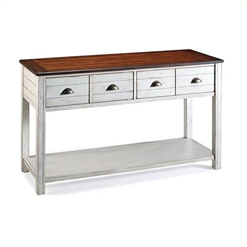 Magnussen Bellhaven Wood Sofa Table - Alabaster Sofa