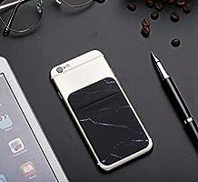 Amazon.com: Paquete de 2 fundas adhesivas para teléfono ...