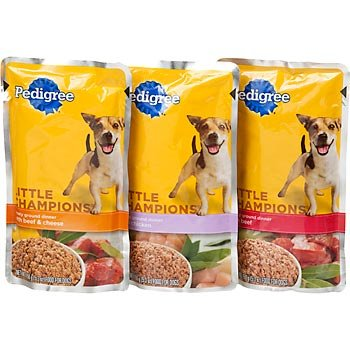 Pedigree Little Champions Traditional Ground Dinner Beef Combo Pack, 3.97-Pound, My Pet Supplies