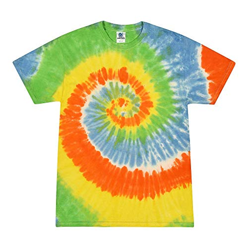 Colortone Tie Dye Kids 10-12 (MD) Spring Time