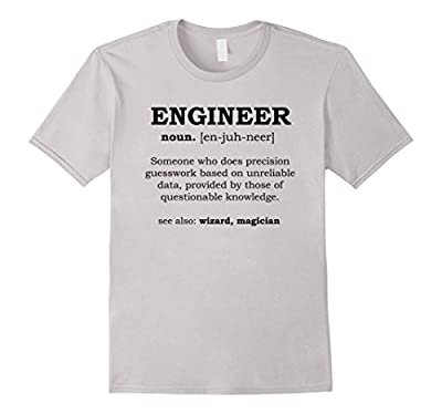 Men's Funny Engineer T-Shirt - men's dictionary meaning definition