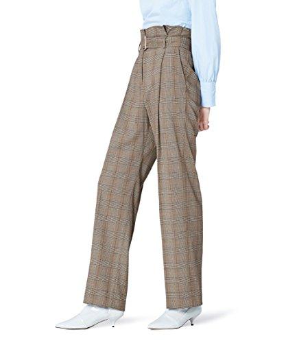 Haute Vêtements Carreaux Find Et À Taille Pantalon Femme xEYwYazq