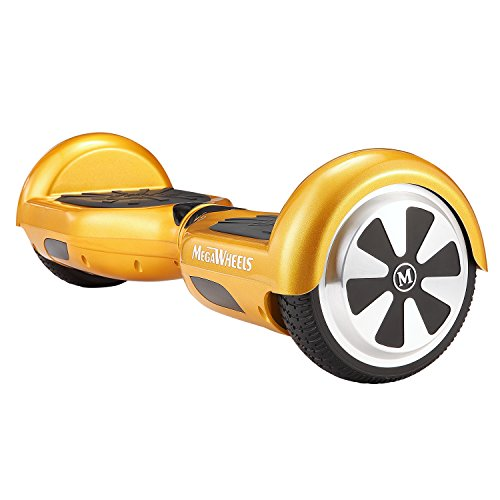 MegaWheels 6.5′ Hoverboard UL 2272 Certified Self-Balancing Smart Scooter (Gold)