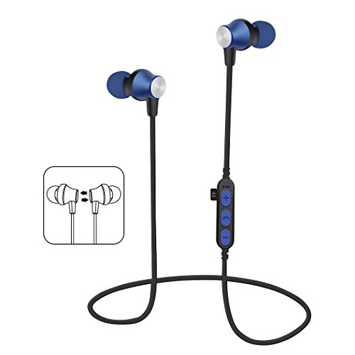 Bulges New Unisex General Stereo In-Ear Earphones Earbuds Handsfree Bluetooth Sport Wireless Headset