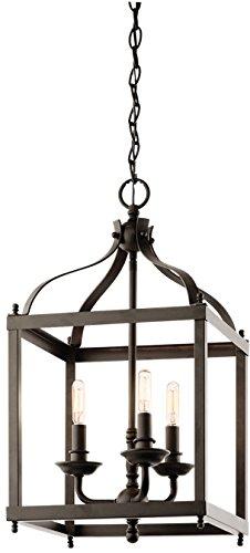 Kichler 42566OZ Larkin Indoor Pendant 3-Light, Olde Bronze