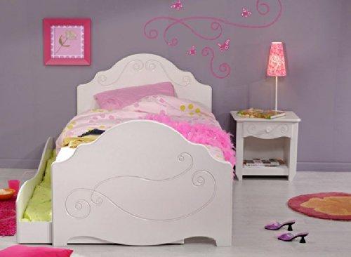 Mädchenbett Kinderbett mit Schubkasten Alisa Pharao24