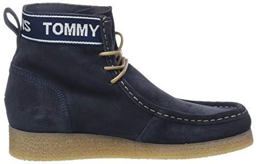 Stivaletti Wmn Wallaby Suola 006 Tommy inchiostro Crepe Blu Scamosciata Donne Jeans IwSCqRwr7