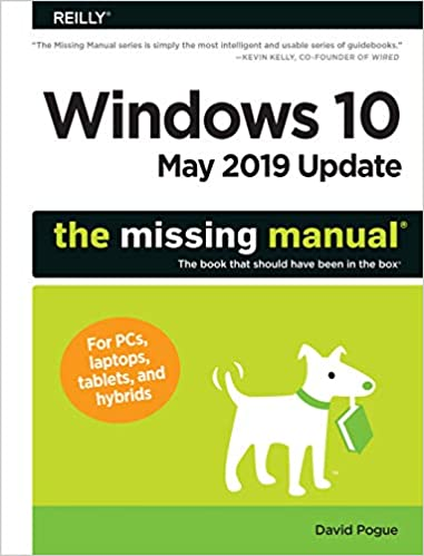 Amazon com: Windows 10 May 2019 Update: The Missing Manual