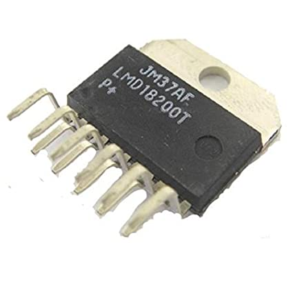 National Semiconductor LMD18200T LMD18200 TO-220 3A 55V H-Bridge for motion control Driver IC