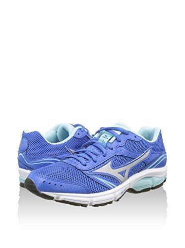 Mizuno Schuh Running Sneaker Damen Wave Impetus 3Royal grau