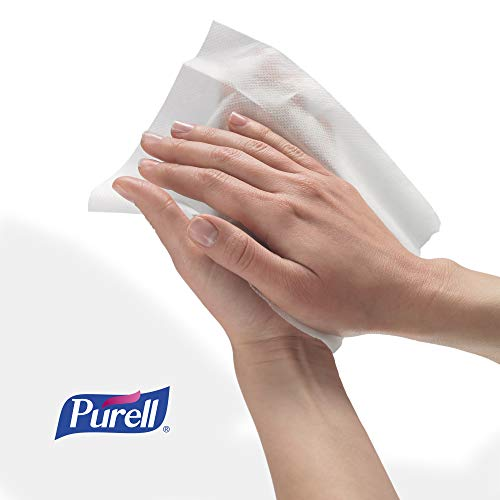 41x5nrEUpxL - PURELL Hand Sanitizing Wipes, Alcohol Formula, Fragrance Free, 300 Count Individually Wrapped Hand Wipes - 9020-06-EC